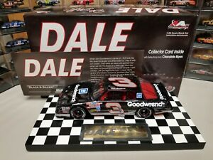 """1988 DALE EARNHARDT DALE THE MOVIE #3 GOODWRENCH """"BLACK & SILVER"""" #5 OF 12 1/24"""