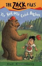 Zack Files 19: the Boy Who Cried Bigfoot (The Zack Files) by Dan Greenburg, Jack