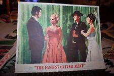 The Fastest Guitar Alive Roy Orbison vintage Movie Lobby Card #5 1967