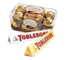 TOBLERONE, FERRERO ROCHER BIRTHDAY GIFT HAMPER PACK CHOCOLATE SELECTION