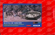 BUM Models 1/72 THE BATTLE OF MOSCOW with T-34 TANK & RUINED HOUSE Figure Set