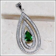Emerald Topaz Fine Necklaces & Pendants