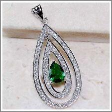 Emerald Topaz Fine Necklaces & Pendants