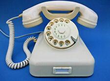 Nostalgie - W48 Bakelit Telefon mit Wählscheibe - funktioniert - Baujahr 1963