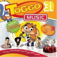 TOGGO MUSIC 31  (CD) JUSTIN BIEBER KATY PERRY MIKE CANDYS BRUNO MARS+++ NEU