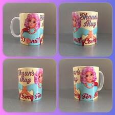personalised mug cup rupauls drag race kim chi rupaul queen donut mess with me