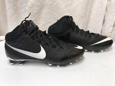 Men Nike CJ3 Pro TD Calvin Johnson Black football Cleats 723976-010 Size US 10.5