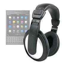 Lightweight Noise-Cancelling Stereo Over-Ear Headphones for Blackberry Passport