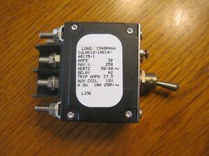 NEW Sensata Airpax 30 amp circuit breaker IULNK12-1REC4-40175-1