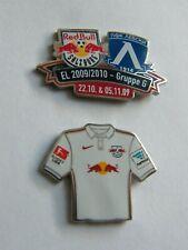 RB SALZBURG + RB  LEIPZIG  - 2 Fußball Pins.