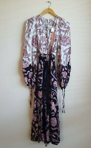 Alice McCall My Everything Floral Print Jumpsuit Playsuit Size AU 6 US 2 - Rose