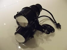 Projector Headlight Vertical Twin Stack with brackets Custom Trike Motorcycle