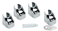 Zodiac Harley-Davidson Chrome Lifter Block Covers Fits 1986-90 XL MODELS BC38289