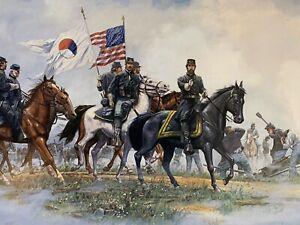 """""""Reynolds"""" by Dale Gallon print #735/950 Gettysburg"""