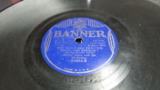 HENRY ALLEN BANNER 78 RPM RECORD 33054 WHY DON'T YOU PRACTICE WHAT YOU PREACH