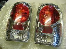 2 Klarglas Rückleuchten Ford Explorer 98 - 01 Chrom Rücklichter Heckleuchten NEU