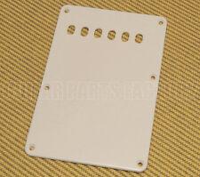 PG-0576-E25 Economy 1-ply Off-White Back Plate 6 string holes for Strat guitar