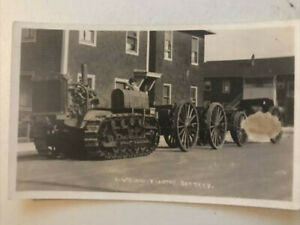 """HOLT"" Caterpillar Tractor     Real Photo POSTCARD"