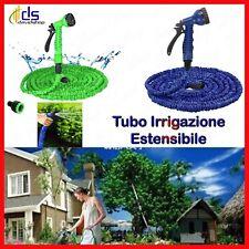 tubo acqua per irrigazione giardino pompa flessibile estensibile 30 metri