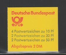 [65748] GERMANY MiNr. 22acMNH BOOKLET MINT NEVER HINGED