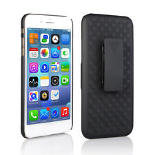 IPhone 8 Plus / 7 Plus Slim Hard Shell Shield Layer Holster Case with Kickstand