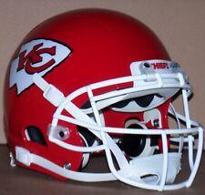 Kansas City Chiefs fullsize Xenith football helmet