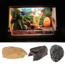 Reptile Hide Spot Decor Aquarium Turtle Gecko lizard Frog Basking Platform
