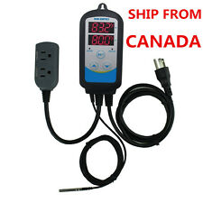 ITC-310T Digital 110V Temperature Controller Time Timer control temp heater fan