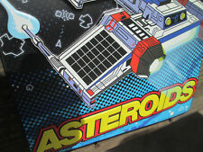 ASTEROIDS ARCADE GAME METAL SIGN Quality VINTAGE LOOK VIDEO PINBALL AMUSEMENT