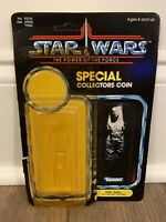 STAR WARS HAN SOLO CARBONITE CARDBACK W ATTCH BUBBLE KENNER VINTAGE 1984 POTF