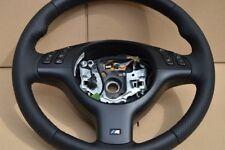 M3 M5 Steering Wheel BMW E46 E39 X5 E53 M3 M5 BLACK stitching PERFORMANCE NEW