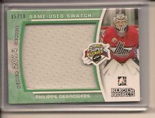 PHILIPPE DESROSIERS 2014-15 ITG HEROES & PROSPECTS GAME USED JERSEY /10