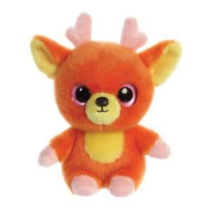 "AURORA Yoohoo & Friends Plush Toy 5"" - Jolley the Reindeer - 61094  - New"