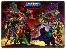 He-Man POSTER Masters of the Universe NO NAMES Character Map *VERY LARGE* He Man