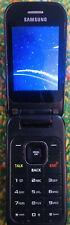 Samsung SPH M370 - Metallic Silver (Sprint) Smartphone Flip Phone Cellular WORKS