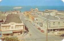 Port Angeles Washington Ferry Chinook Birdseye View Vintage Postcard K39245