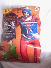 halloween zombie footballer