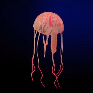Artificial Fluorescent Jellyfish Fish Tank Aquarium Mini Submarine Ornament