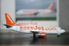 Herpa Wings 1:400 EasyJet Boeing 737-300 HB-IIJ (560702) Die-Cast Model Plane