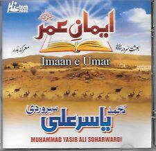 imaan E Umar - Muhammad yasir Ali soharwardi - NUEVO Islámico CD