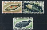 Neukaledonien MiNr. 415-17 postfrisch MNH Fische (X958