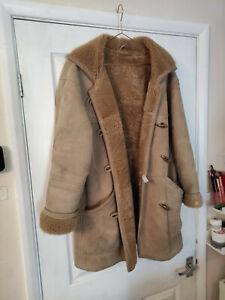 Ladies Milan Leather Vintage Leather Sheepskin Honey Jacket Coat 14