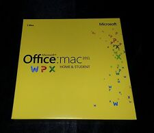 Microsoft Office MAC 2011 Home & Student  Retail DVD Install MAC 1 Use