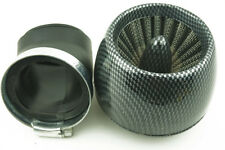 2PCS Motorcycle Air Filter Chrome 48mm Cone Universal
