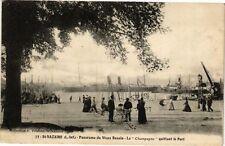 "CPA  St-Nazaire (L.-Inf.) -Panorama du Vieux Bassin -La ""Champagne""...(222362)"