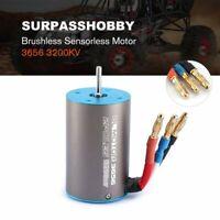 SURPASSHOBBY 3656 3200KV Brushless Sensorless Motor with 60A ESC Combo Set SE