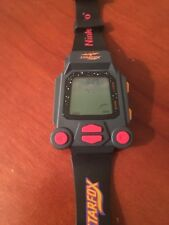 STARFOX GAME NINTENDO WATCH ELECTRIC HANDHELD GAME WRISTBAND VINTAGE TOY 1993