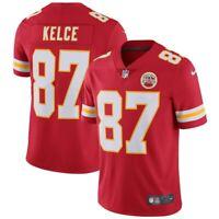 Kansas City Chiefs Travis Kelce #87 Nike Men's Red NFL Vapor Limited Jersey