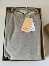 Merz b Schwanen Sweater 346 Fleece grey mel. Größe S/4