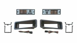 Park Indicator Lamp Clear Lights Pair suitable for TJM Bullbar 428IND-PKCLR